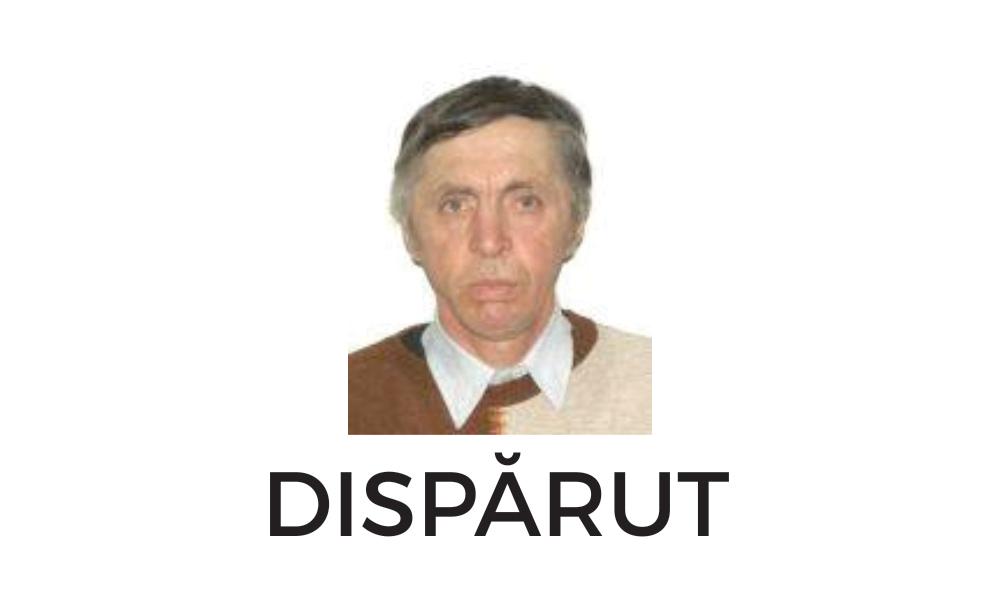bărbat plecat din spital dispărut