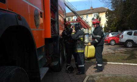 incendiu la o școală generală rădăuți
