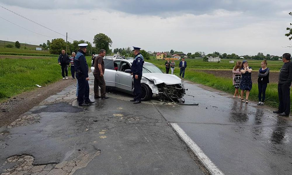 9 persoane rănite accident grav