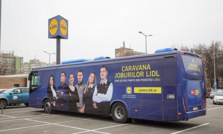 caravana joburilor lidl ajunge în rădăuți