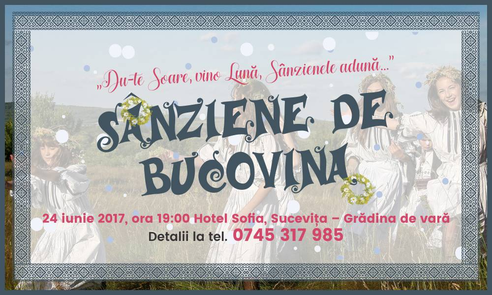 sânziene de bucovina bloom events