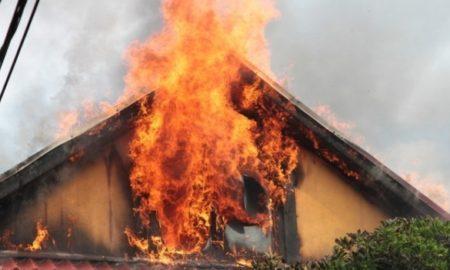 incendiu la o casă din vicovu de jos