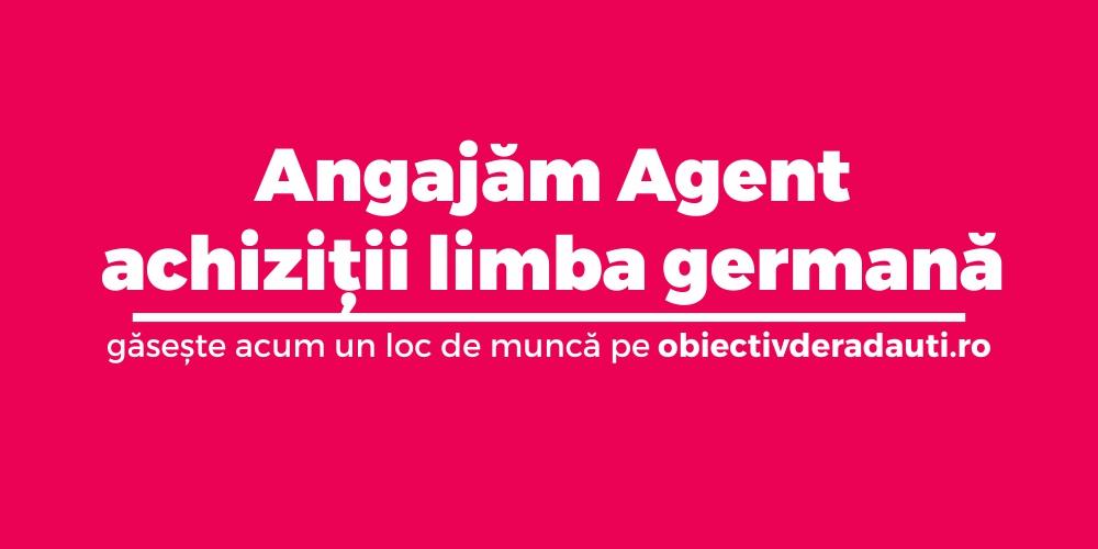 angajam-agent-achizitii-limba-germana