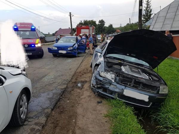 accident-rutier-la-granicesti-trei-persoane-au-ajuns-la-spital