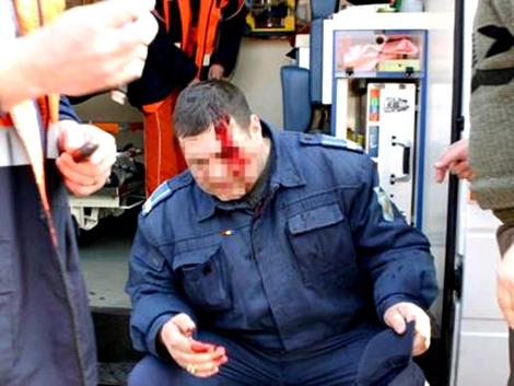 un-jandarm-a-fost-batut-intr-un-local-iar-agresorul-a-scapat-de-arest